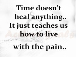 Time doesn't 