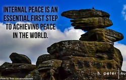 INTERNAL PEACE IS AN 