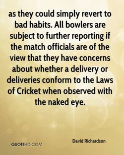 as they could simply revert to 
