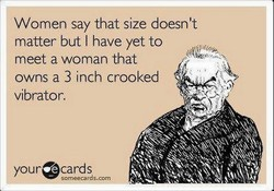 Women say that size doesn't 
