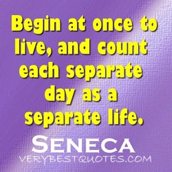 Begin at once 
