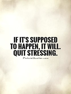 IF IT's SUPPOSED 