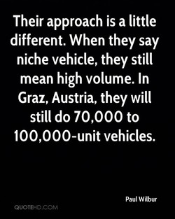 Their approach is a little 