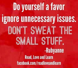 Do yourself a favor 