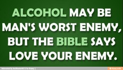 ALCOHOL MAY BE 
