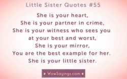 Little Sister Quotes #55 