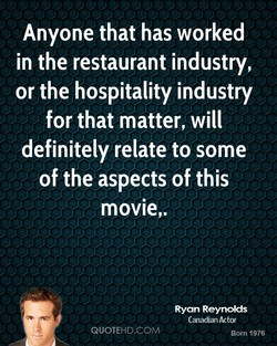 Anyone that has worked 