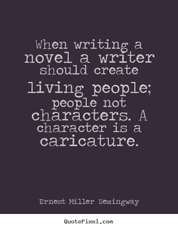 When writing a 