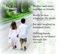 Brother and sister, 