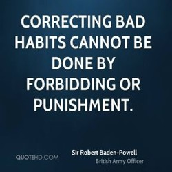 CORRECTING BAD 