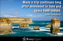Many a trip continues long 