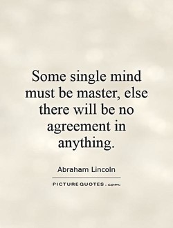 Some single mind 