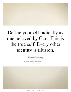 Define yourself radically as 