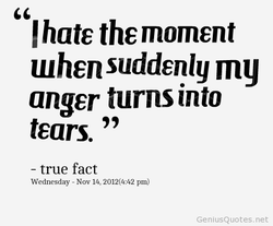 hate the moment 