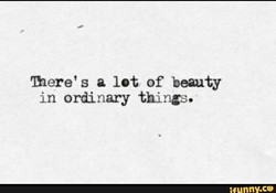 mere' s a lot of beauty 