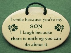 I smile because you're my 