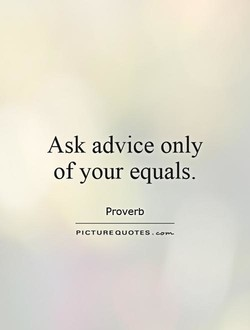 Ask advice only 