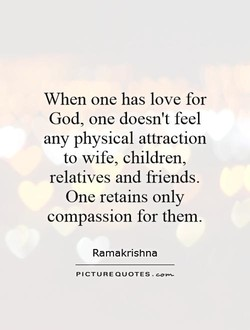 When one has love for 