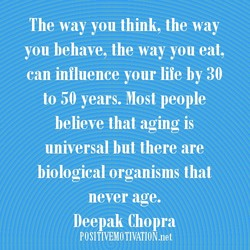 The way you think, the way 