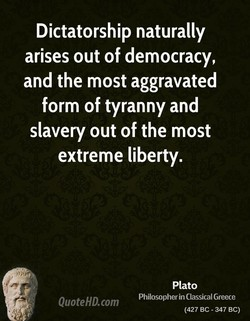 Dictatorship naturally 