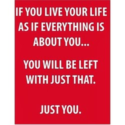IF YOU LIVE YOUR LIFE 