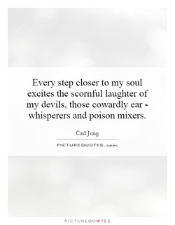 Every step closer to my soul 