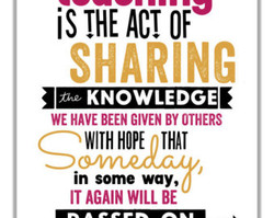 SHARING KNOWLEDGE WE HAVE BEEN GIVEN BY OTHERS WITH HOPE THAT in some way, IT AGAIN WILL BE