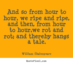 And So from hour to 