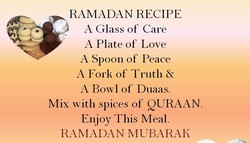 RAMADAN RECIPE 