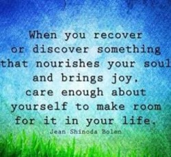 When you recover 