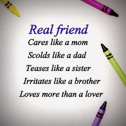 Real friend 