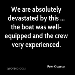 We are absolutely 