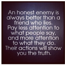 An honest is 