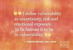 I define vulncrability 