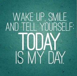 WAKE UP SMILE 