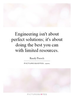 Engineering isn't about 