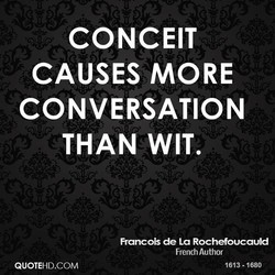 CONCEIT 