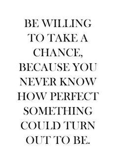 BE WILLING 