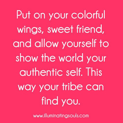 Put on your colorful 