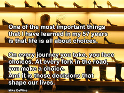 One of the mOst important things 