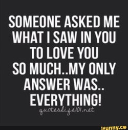 SOMEONE ASKED ME 