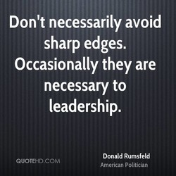 Don't necessarily avoid 