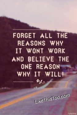 FORGET ALL THE 