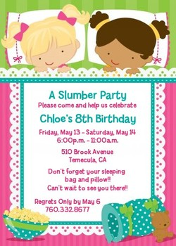 A Slumber Party 