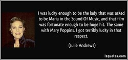 I was lucky enough to be the lady that was asked 