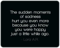 The sudden moments 