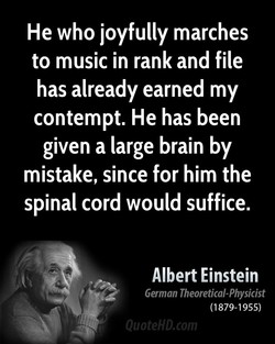 He who joyfully marches 