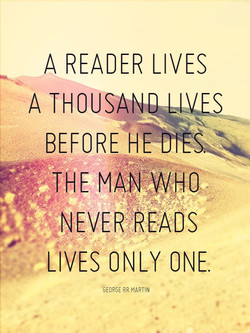 A READER LIVES 