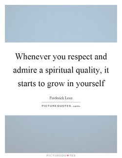 Whenever you respect and 