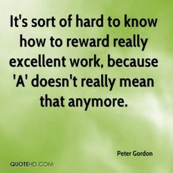 It's sort of hard to know 